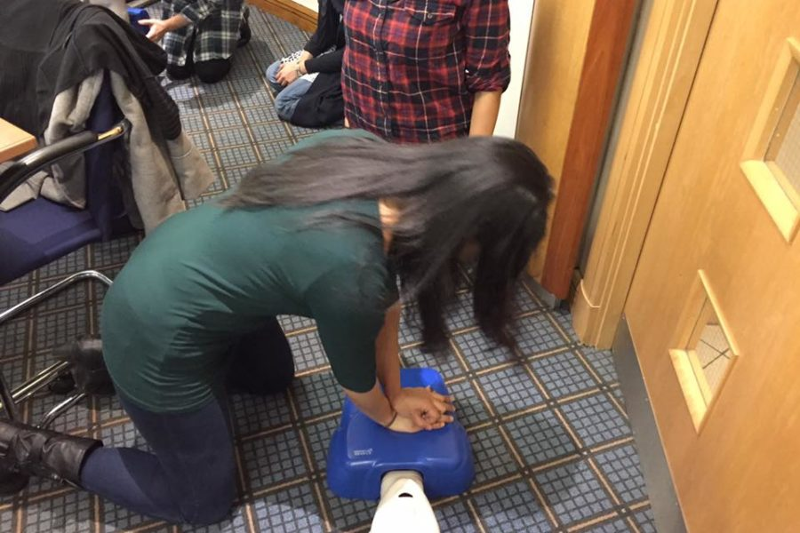 cpr course as part of flu jab training